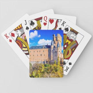 Baralho Castelo de Segovia dos cartões de jogo