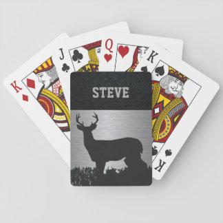 Baralho Cervos feitos sob encomenda que caçam cartões de