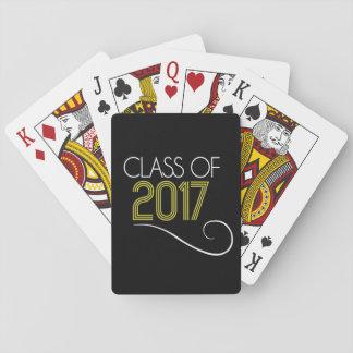 Baralho Classe dos cartões 2017 de jogo