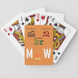 Baralho clássico MbyW Edição Meme Jogos De Baralhos