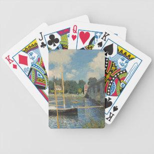 Baralho Claude Monet   a ponte em Argenteuil