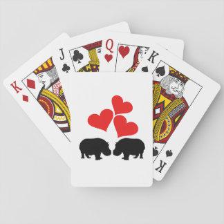 Baralho Corações & hipopótamos
