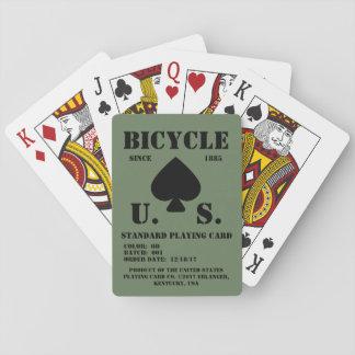 Baralho (da imitação) cartões de jogo estandardizados