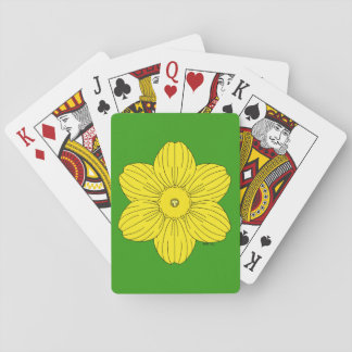 Baralho Daffodil heráldico