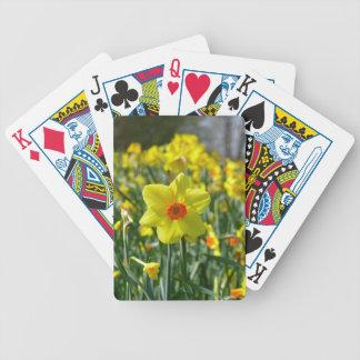 Baralho Daffodils amarelos alaranjado 01.0.2