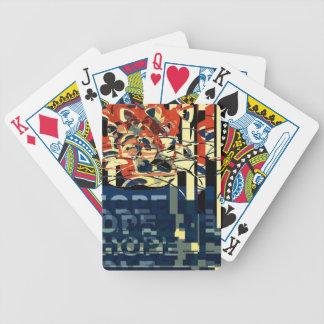 Baralho De Poker Abstrato Funky do gato
