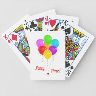 Baralho De Poker Balões do partido