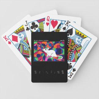 Baralho De Poker Cartões de jogo de TWIS: O rato de canto animal de