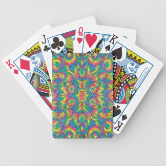 Baralho De Poker Cartões de jogo do póquer de Bicycle® do arco-íris