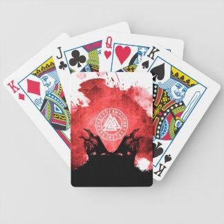 Baralho De Poker Corvos de Huginn e de Muninn Odin