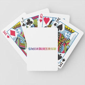 Baralho De Poker Design legal do Triathlon