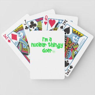 Baralho De Poker Design nuclear original