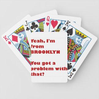 Baralho De Poker Eu sou de Brooklyn
