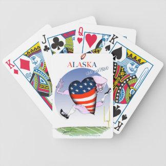 Baralho De Poker fernandes tony altos e orgulhosos de Alaska,