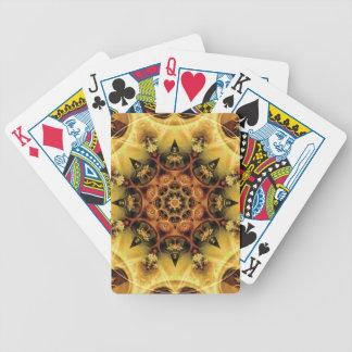 Baralho De Poker Mandalas do coração da liberdade 28 presentes