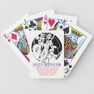 Baralho De Poker Mente, corpo & espírito - cartões da orientação do