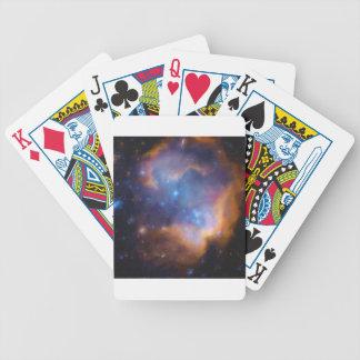 Baralho De Poker nebulosa galáctica abstrata nenhuns 2