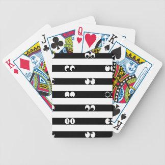 Baralho De Poker Olhos nas listras