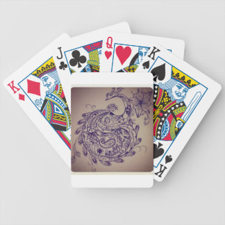 Baralho De Poker Pavão da mandala