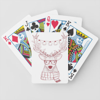 Baralho De Poker Rena do hipster
