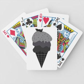 Baralho De Poker Sorvete escuro