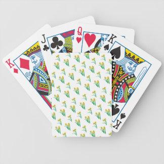 Baralho De Poker Teste padrão dos Daffodils