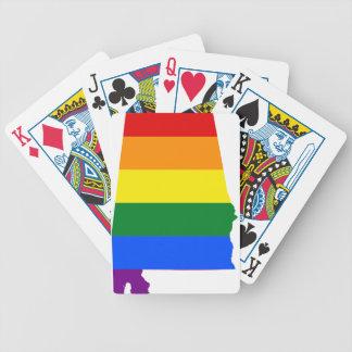 Baralho De Truco Bandeira de Alabama LGBT