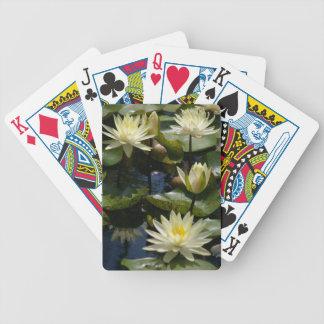 Baralho De Truco Cartões de jogo das almofadas de lírio dos