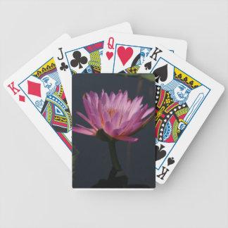Baralho De Truco Cartões de jogo roxos de Waterlily Lotus