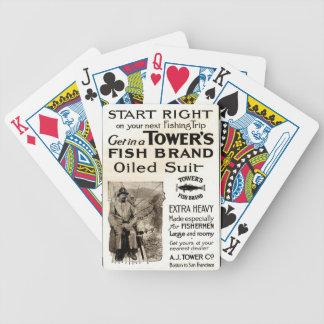 Baralho De Truco Grupo de cartão do jogo do anúncio do Oilskin do