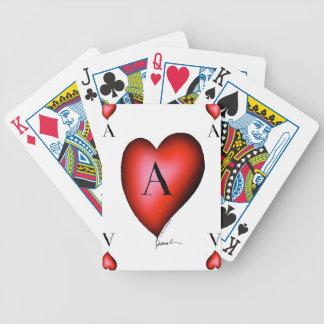 Baralho De Truco O ás de corações por Tony Fernandes