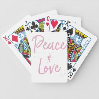 Baralho De Truco Paz-e-Amor-Cor-de-rosa