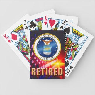 Baralho De Truco U.S. Cartões de jogo aposentados força aérea da