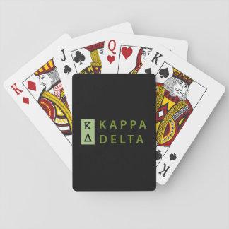 Baralho Delta do Kappa empilhado