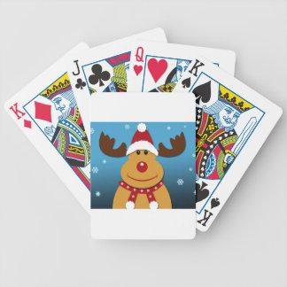 Baralho Desenhos animados Rudolph os presentes do Natal da