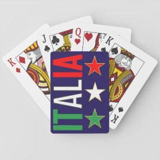 Baralho Design das estrelas de Tricolore da bandeira de