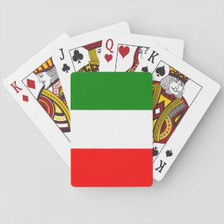 Baralho Design de Tricolore da bandeira de Italia do