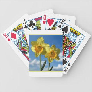 Baralho Dois Daffodils amarelos 2,2