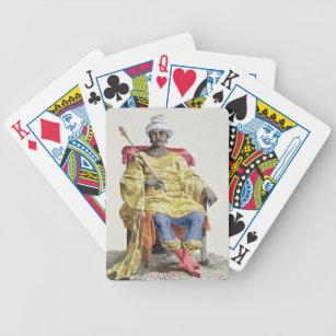 Baralho Don Alvares, rei do Congo, 'do DES de Receuil