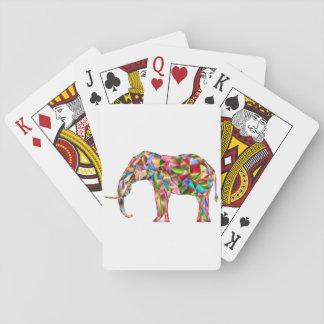 Baralho Elefante colorido