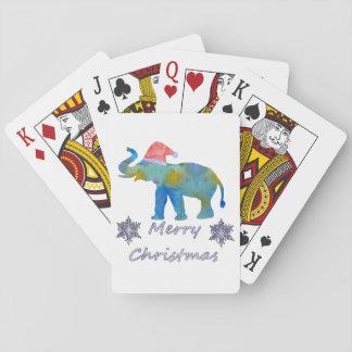 Baralho Elefante do Natal