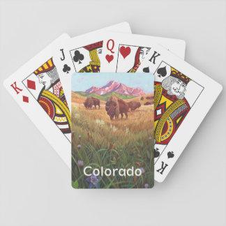 Baralho Estado de cartões de jogo de Colorado