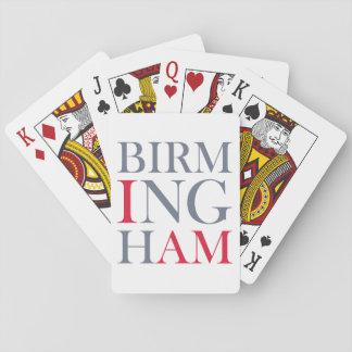 Baralho Eu sou cartões de jogo de Birmingham