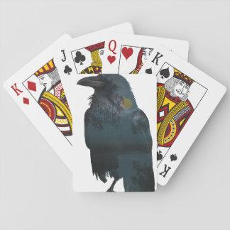 Baralho Exposição dobro do corvo