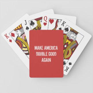 Baralho Faça a América bom dobro outra vez