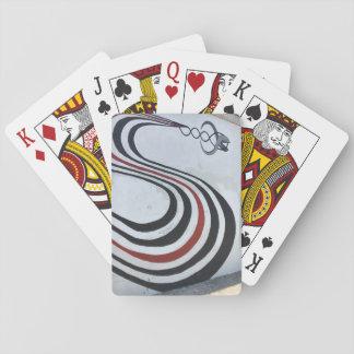 Baralho Figura 8 cartões de jogo