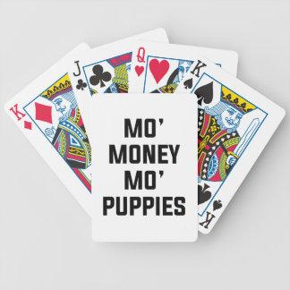 Baralho Filhotes de cachorro do Mo do dinheiro do Mo