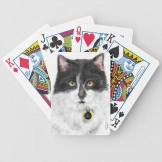 Baralho Gato preto e branco