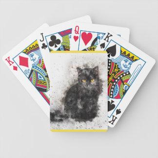 Baralho Gato preto misterioso