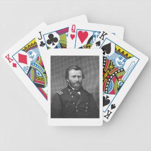 Baralho General Ulysses Simpson Grant, gravado após uma
